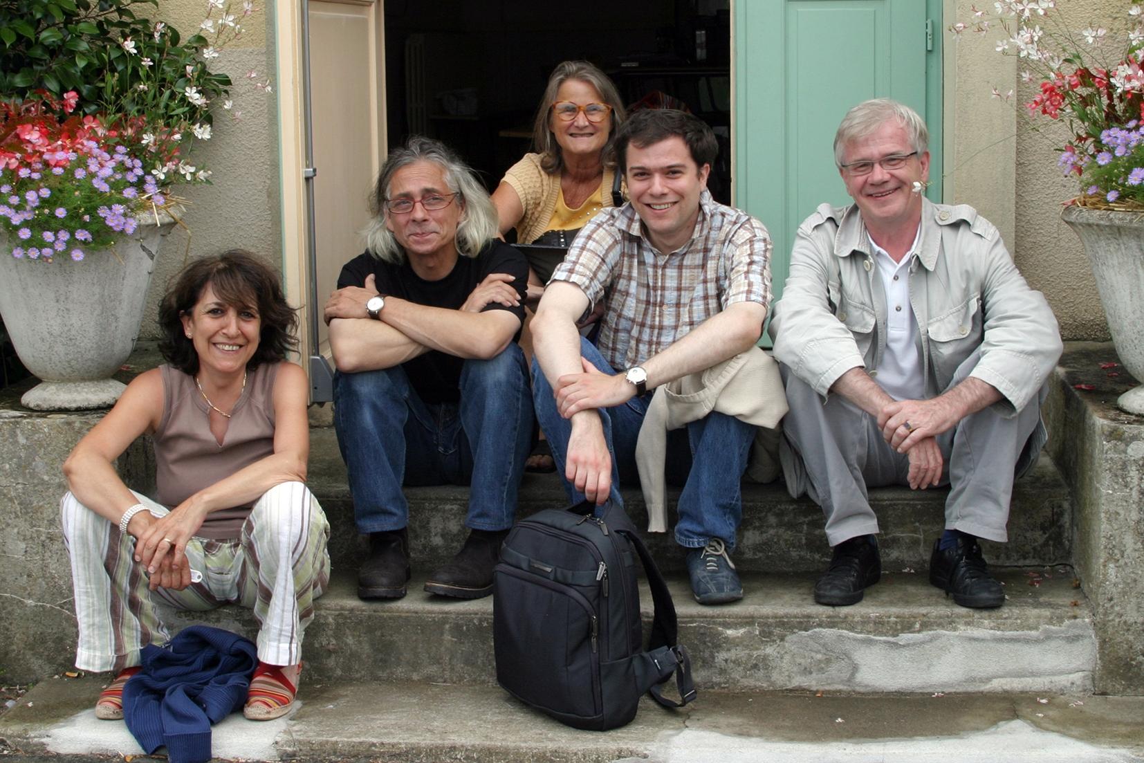 Pascale Kalfon, Eric Guilleton, françoise Geier, Matthias Vincenot et Alain Vincenot