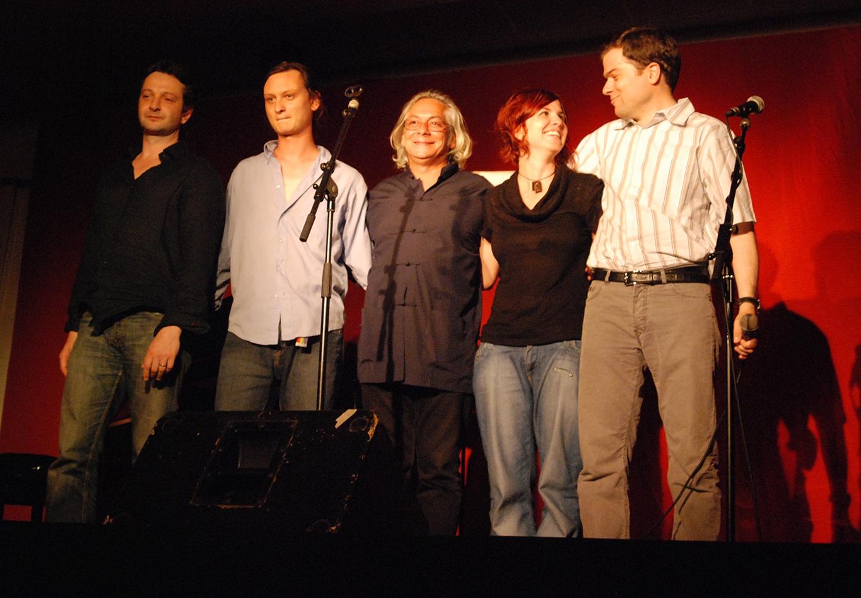 Bertrand Louis, Etienne Champollion, Eric Guilleton, Emilie Marsh, Matthias Vincenot