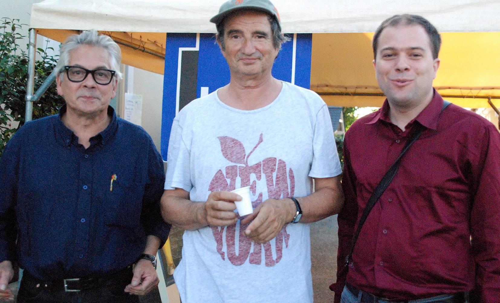 Eric Guilleton, Hervé Cristiani, Matthias Vincenot