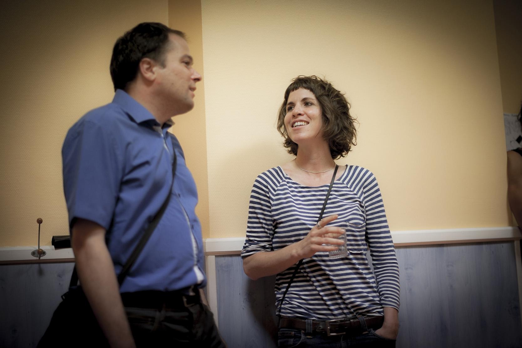 Matthias Vincenot et Emilie Marsh