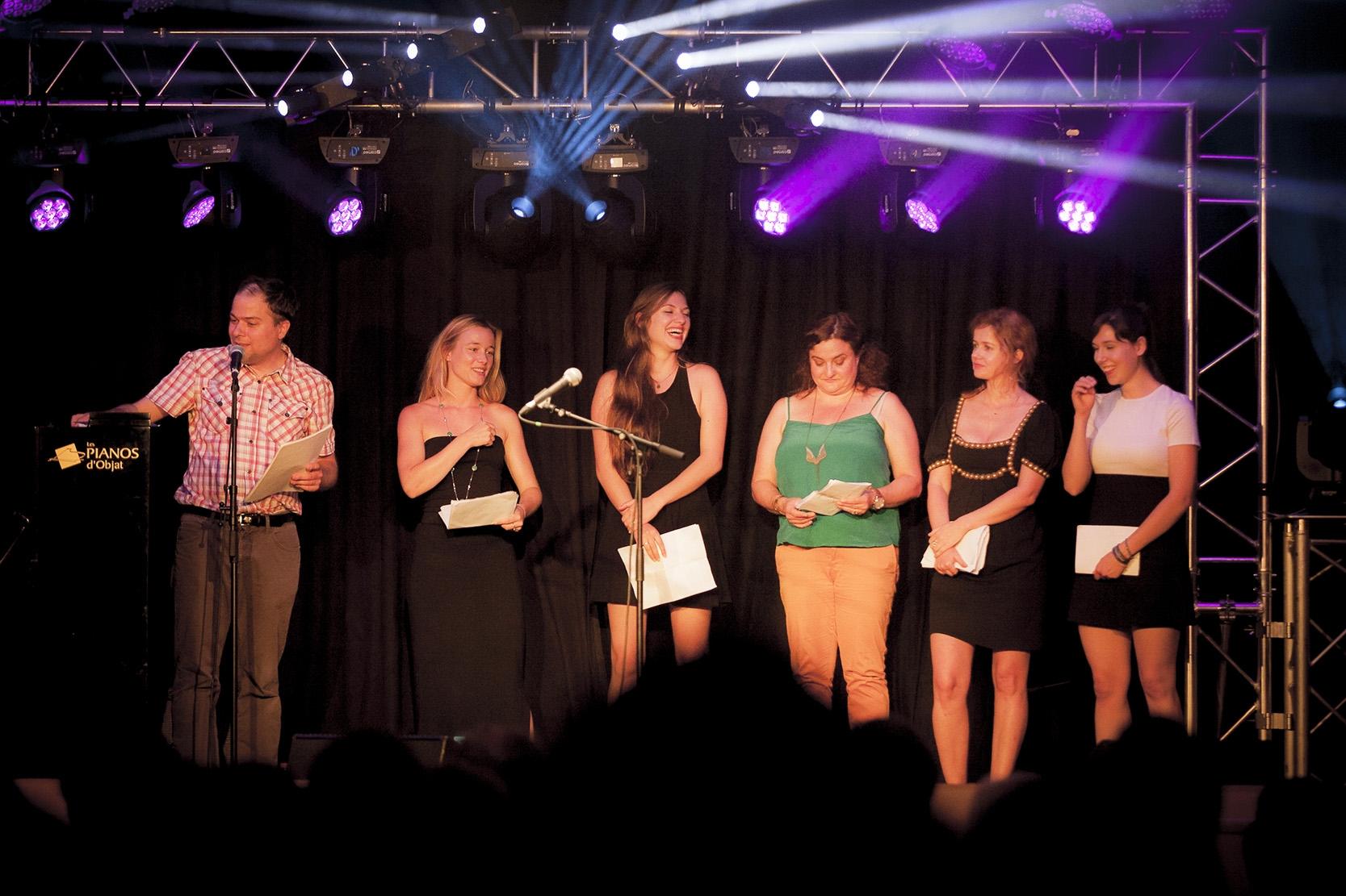 Matthias Vincenot, Justine Thibaudat, Pénélope-Rose Lévêque, Tatiana Gousseff, Julie Delarme, Cannelle Carré-Cassaigne