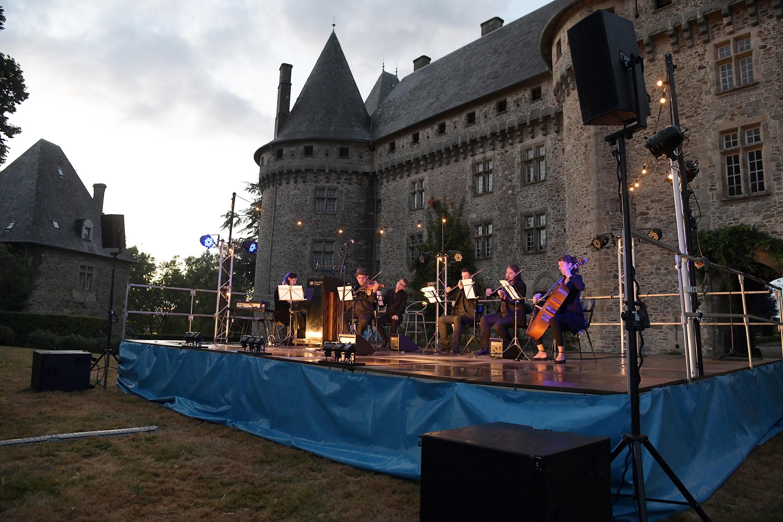 L'Ensemble DécOUVRIR à Pompadour. Concèze 2018