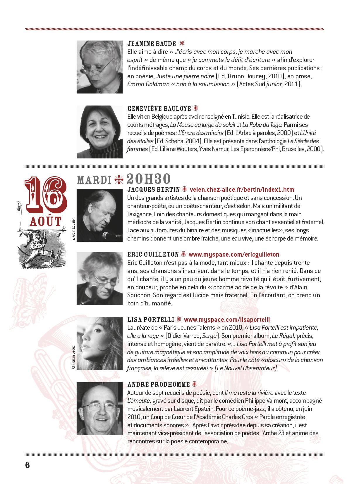 programme Conceze 2011-6