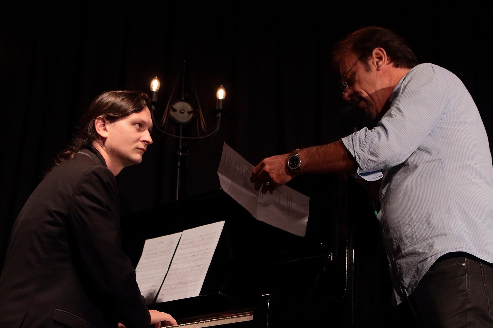 Antoine Coesens et Etienne Champollion. Concèze 2014