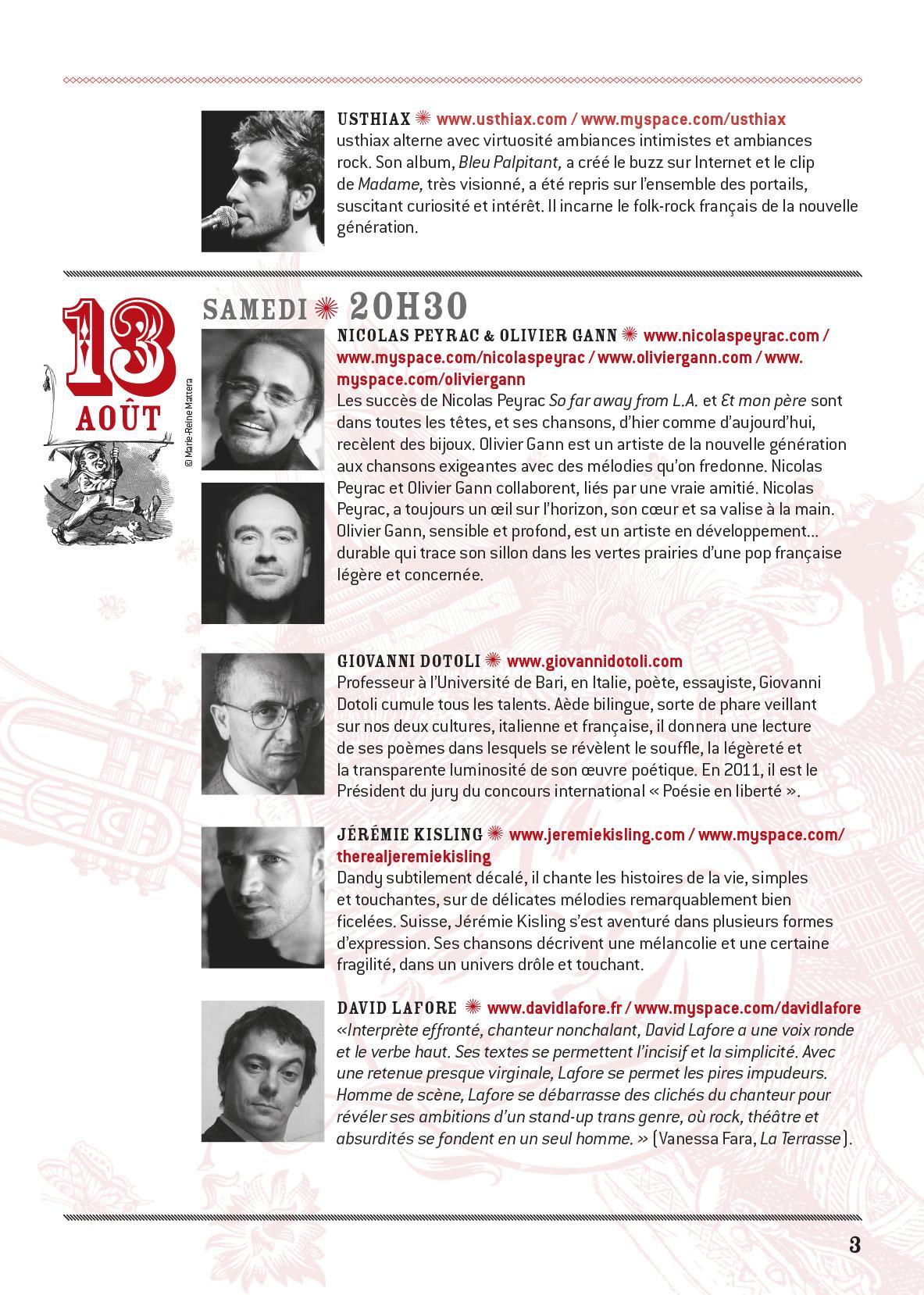 programme Conceze 2011-3