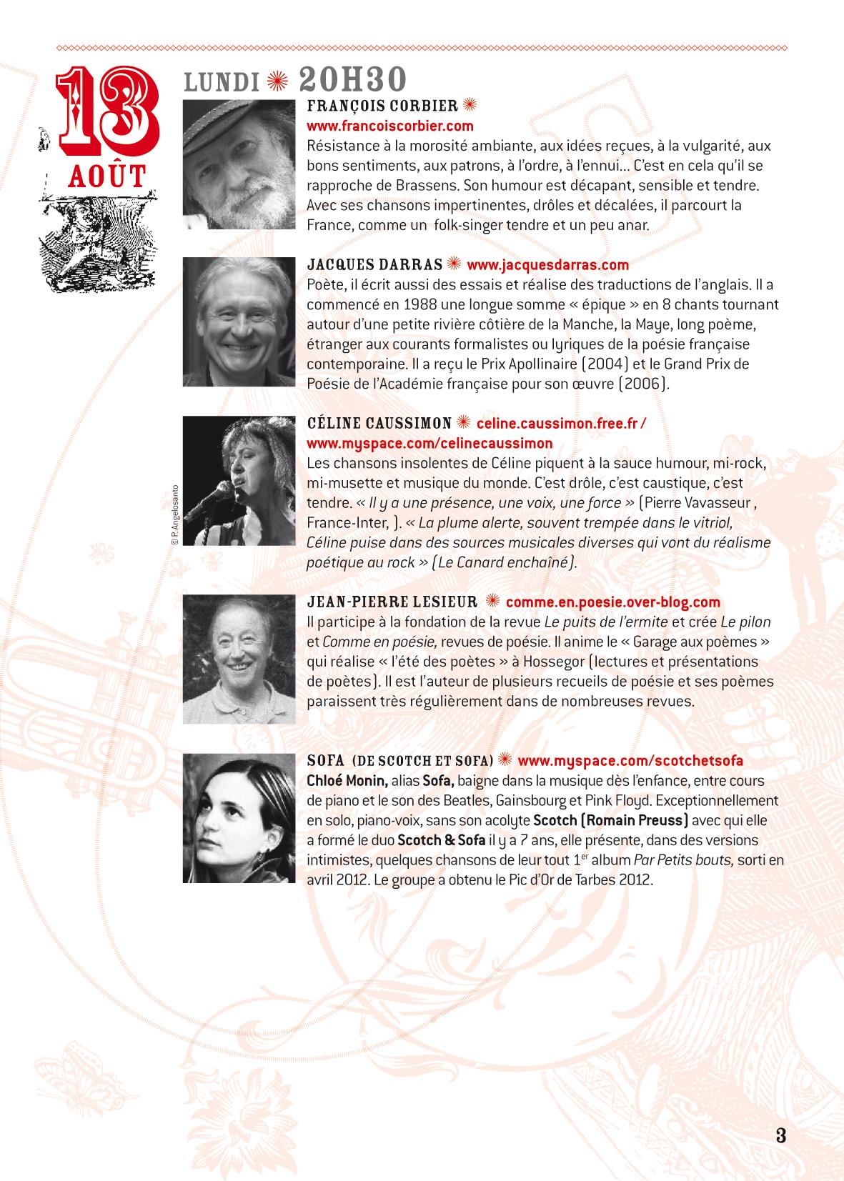 Progr. Conceze 2012-3